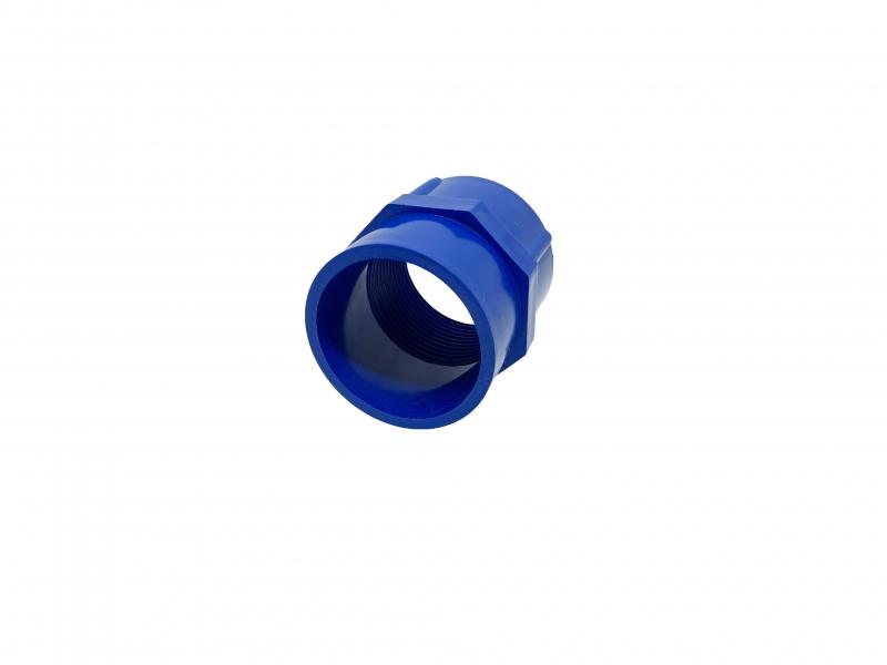 PVC-U 40mm solvent adaptor 40mm-1.25 inch