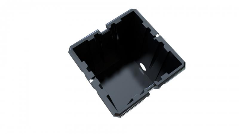 20L Black Pot