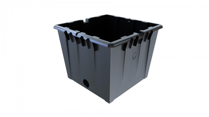 36L RDWC Black Pot