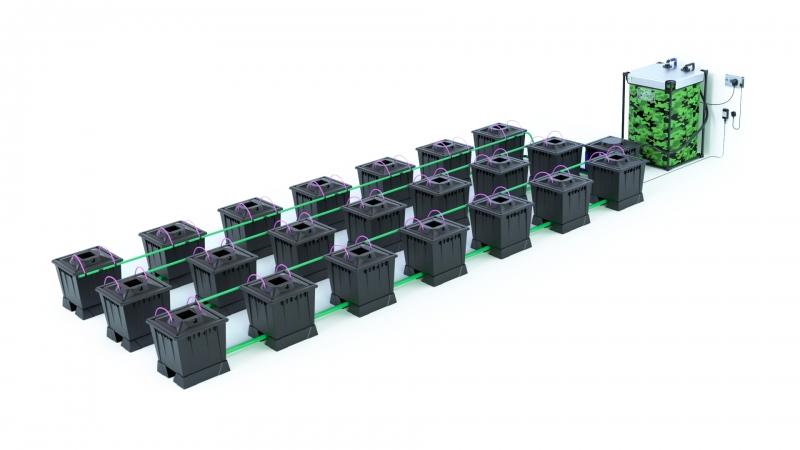 ALIEN® AERO™ 21 pot 30L Black Series