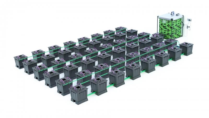 ALIEN® AERO™ 48 pot 30L Black Series